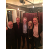 Sting and lead sponsor North P&I, at the UK premiere of 'The Last Ship' (L-R Alan Wilson (North P&I Club, Joint Managing Director), Sting, Paul Jennings (North P&I Club, Joint Managing Director), Kaye Jennings, and Richard Bracken (North P&I Club, Group Director (Underwriting)).