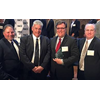 Buck Younger, third from left, was named the Marine Engineer/Naval Architect of the Year. Attending the awards presentation were VT Halter Marine's Alvin Erkhart, Vice President of Production, Kevin Amis, Executive Vice President of Operations, and Rob Mullins, Deputy President. (Photo: VT Halter)