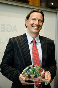 Tuomas Riski, CEO, Norsepower, Nor-Shipping Young Entrepreneur Award 2017 winner  (Photo: Norsepower)