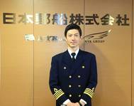 Akihiro Mori, NYK's first internally trained captain. Photo: NYK