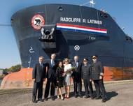 MV Algobay Rename Ceremony: Photo credit Algoma Central Corp.