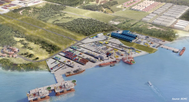 Artist impression of BOMC port (Image: BOMC)