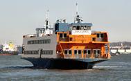 Austin-class ferry John A.Noble: Photo credit SIF