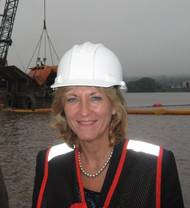 Betty Sutton, Administrator of the Saint Lawrence Seaway Development Corporation.