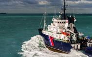 A bourbon offshore support vessel underway (File image: CREDIT Bourbon)