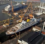 'Braemar' & 'Balmoral': Photo credit Lloyd Werft Bremerhaven AG