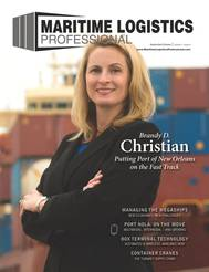 Brandy D. Christian, President & CEO at the Port of New Orleans, is featured in the September/October edition of MLP.