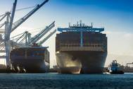 Canceled sailings related to the COVID-19 pandemic contributed to a decline in cargo traffic at the Port of Long Beach in March. (Photo: Port of Long Beach)