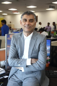 Captain Rajesh Unni, Co-CEO of AOT and CEO and Founder of leading Singapore-based shipmanager Synergy Group (Photo: Synergy)