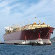 LNG Carrier: Photo credit ExxonMobil