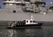 M1-46 Catamaran Dive Boat: Photo credit Los Angeles Police Dept.