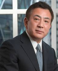 ICS Chairman Masamichi Morooka