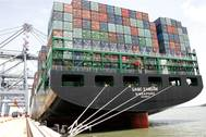 CHINA SHIPPING vessel at Cai Mep Photo APM Terminals