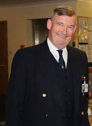 Commander Brian Boxall-Hunt, chief executive of the Society