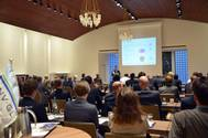 The DNV GL Container Ship Forum in Hamburg gave an overview of current trends in the container sector (Photo: DNV GL)