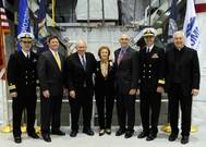 USS Detroit Keel-laying Ceremony: Photo credit Lockheed Martin