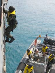 Djibouti Code (IMO's counter-piracy programme): Photo credit IMO