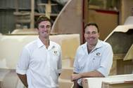 Luke Durman and Tom Barry-Cotter (Photo: Elandra Yachts)
