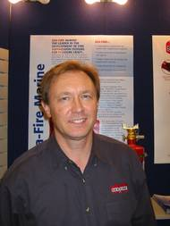 Ernie Ellis (Photo: Sea-Fire Marine)