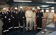 First LNG Shipment Ceremony: Photo credit Angola LNG