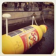 Giant Drift Bottle: Photo credit Koeningsegg