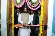 Hon'ble Minister Shri Hansraj Gangaram Ahir (Photo: Krishnapatnam Port)