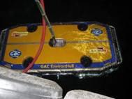 HullWiper cleans in the dark.