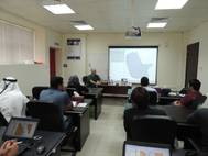 Hypack Training Seminar By Pat Sanders at Unique System FZE's Training Centre in Sharjah, UAE