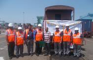 Inaugural train started from JNPT to TIHI (Photo: Allcargo)