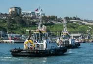 SAAM incorporated two new tugboats, Mirlo and Tordo, into its fleet in Chile  during Q2 2016 (Photo: SAAM)