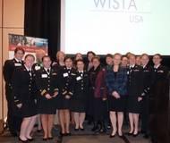 Kataraina Stanzel, WISTA leadership team and Academy Cadets (photo credit: Gail Karlshoej)