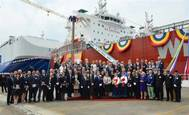 Lindanger naming ceremony Courtesy DNV GL