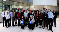 Lloyd's Register, sponsors of Sailors' Society's Woolly Hat Week, will be donning their woolly hats and holding a #HatHero collection to raise funds for seafarers and their families. (Photo: Sailor's Society)
