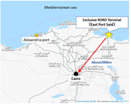Location of East Port Said (Photo: NYK Line)