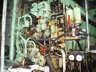 Machinery, general cargo/multipurpose ship, date keel laid 1976.