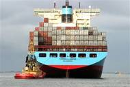 Maersk Container Ship: Photo credit Port of Gothenberg