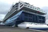 """""""Marella Explorer"""" in Kiel / Foto: PORT OF KIEL"""
