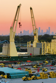 $35 million new cranes order for Port Houston's Bayport Container Terminal. (Photo: Port Houston)