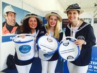 The Mission to Seafarers fundraisers in 19th C sailor costumes
