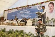 Nitin Gadkari, the Honourable Minister for Shipping, Road Transport and Highways inaugurated the terminal (Pic by Adani Ports)