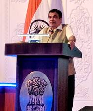 Nitin Gadkari, Indian Shipping Minister. Photo: PIB