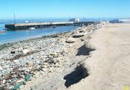 Port Nolloth shoreline which will undergo revetment works. (Photo: TNPA)
