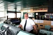 A passionate captain for more than 20 years: Erwin Redeker (Photo: Hapag-Lloyd)