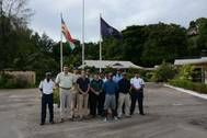 Photo of Marine Police Investigation Unit on first day of seamanship training provided by EUCAP Nestor experts (Credit EUCAP)
