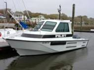 New Cape Fear Pilot Boat: Image courtesy of Pilot Service