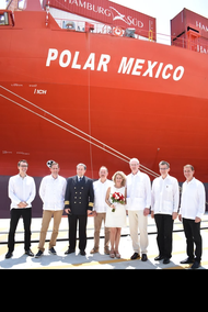 """Polar Mexico"" (Photo: Hamburg Süd)"