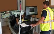 Ports America's Port Newark Auto Terminal New Mobile Ro-Ro Operations Labor Training Simulator, STISIM Drive (Photo: Ports America)
