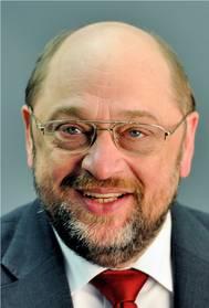 President, Mr Martin Schultz. Photo ESW