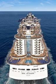 MSC Seaside. Image: MSC Cruises