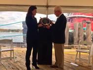 Senator Ayotte Receives Champion of Maritime Award (Photo: AMP)